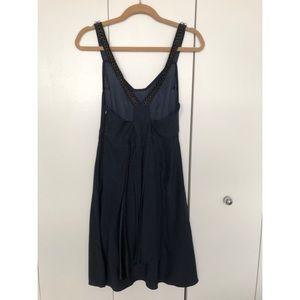 Vena Cava navy dress with chains